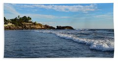 Poneloya Beach Before Sunset Beach Towel