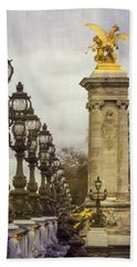 Pont Alexandre IIi Paris Beach Towel