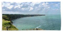 Pointe Du Hoc Beach Sheet