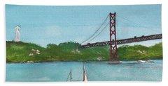 Ponte Vinte E Cinco De Abril Beach Sheet