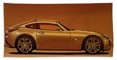 Pontiac Solstice Coupe 2009 Painting Beach Towel