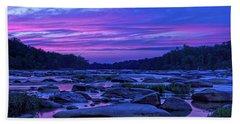 Pony Pasture Sunset Beach Towel