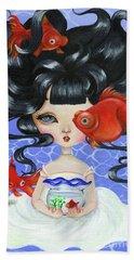 Pop-eyed Goldfish Beach Sheet