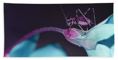 Beach Towel featuring the photograph Pop Macro No. 3 by Laura Melis