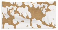 Popcorn- Art By Linda Woods Beach Towel