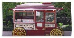 Popcorn Wagon Beach Sheet