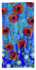 Poppy Dance Beach Towel