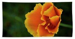 Poppy Orange Beach Sheet