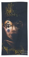 Porcelain Doll. Performing Arts Event Beach Towel