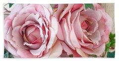 Porch Roses Beach Sheet