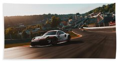 Porsche 911 Rsr, Spa-francorchamps - 33 Beach Sheet