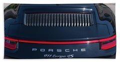 Porsche 911 Targa 4s Beach Towel