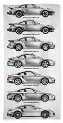 Porsche 911 Turbo Evolution Beach Towel