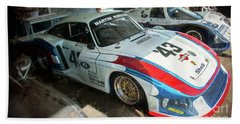 Porsche 935 Moby Dick Beach Sheet