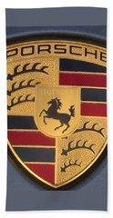 Porsche Emblem Beach Sheet