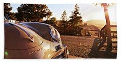 Porsche Sundown Beach Sheet