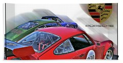 Porsche Trio Beach Sheet