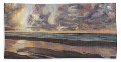 Port Aransas Sunrise Beach Towel