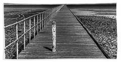 Port Germein Long Jetty Beach Towel