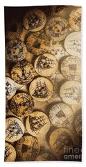Port Of Corks At The Old Sail Tavern Beach Towel