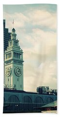 Port Of San Francisco Beach Towel
