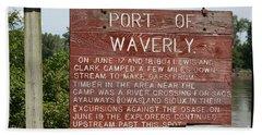 Port Of Waverly Beach Sheet