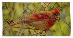 Port Orange Cardinal Beach Towel
