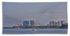Port Orange Waterway Beach Towel