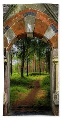 Beach Towel featuring the photograph Portal To Portumna Forest by James Truett