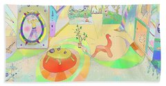 Portals And Perspectives Beach Towel