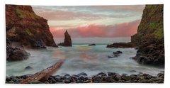 Portcoon Beach Towel by Roy McPeak