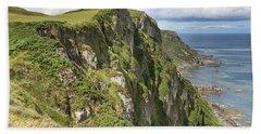 Portkill Cliffs Beach Towel