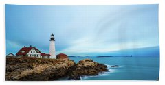 Portland Head Light 1 Beach Towel