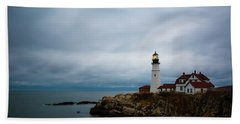 Portland Head Light 2 Beach Towel