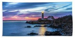 Portland Head Light Beach Sheet