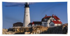 Portland Head Light No. 43 Beach Towel