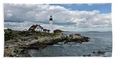 Portland Head Light, Starboard Beach Towel