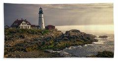 Portland Head Lighthouse 2014 Beach Towel
