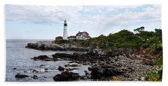 Portland Headlight II Beach Towel