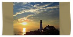 Portland Headlight Sunbeam Beach Sheet
