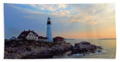 Portland Headlight Beach Towel