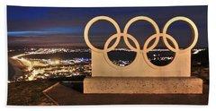 Portland Olympic Rings Beach Sheet