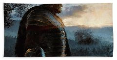 Portrait Of A Roman Legionary - 34 Beach Towel