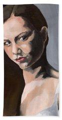 Portrait Of Amanda Beach Towel