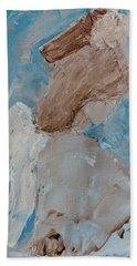 Portrait Of An Angel Beach Towel