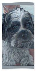 Portrait Of Charley Beach Sheet