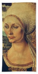 Portrait Of Elisabeth Tucher Beach Towel