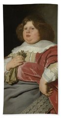 Portrait Of Gerard Andriesz Bicker, 1642 Beach Sheet