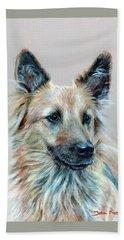 Portrait Of Sasha Beach Towel