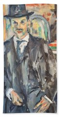Portrait Of Simon Beach Sheet